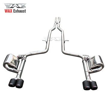 Factory hot sale high quality stainless steel exhaust for Dodge challenger charger sport car sound