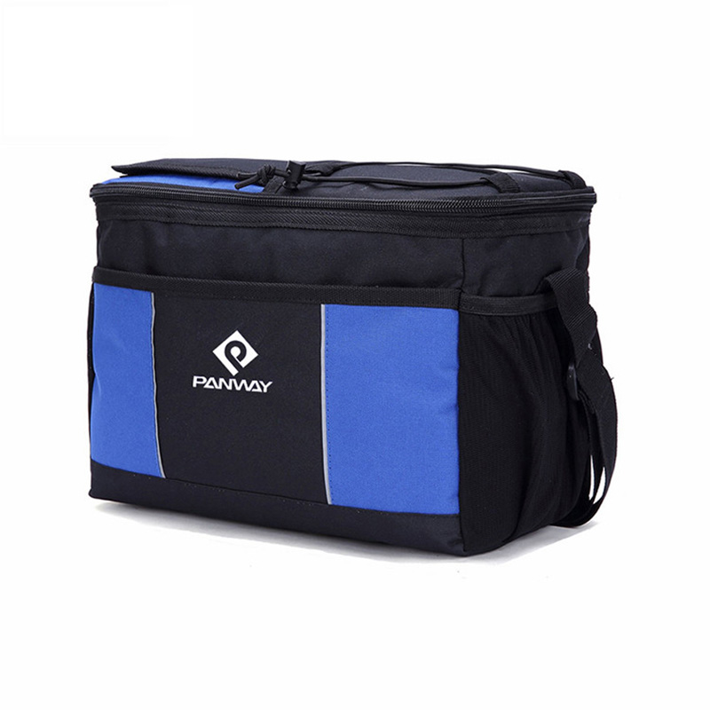 Cooler bag custom wholesale Fashion Reusable Waterproof Durable outdoor Cooler Tote Lunch bag with Shoulder Strap