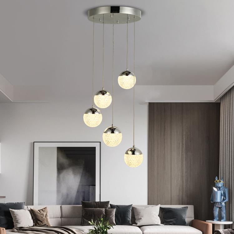 Nordic креативный Ccrystal Ресторан искусство спальня бар Кейтеринг дизайнерский современный светодиодный подвесной светильник