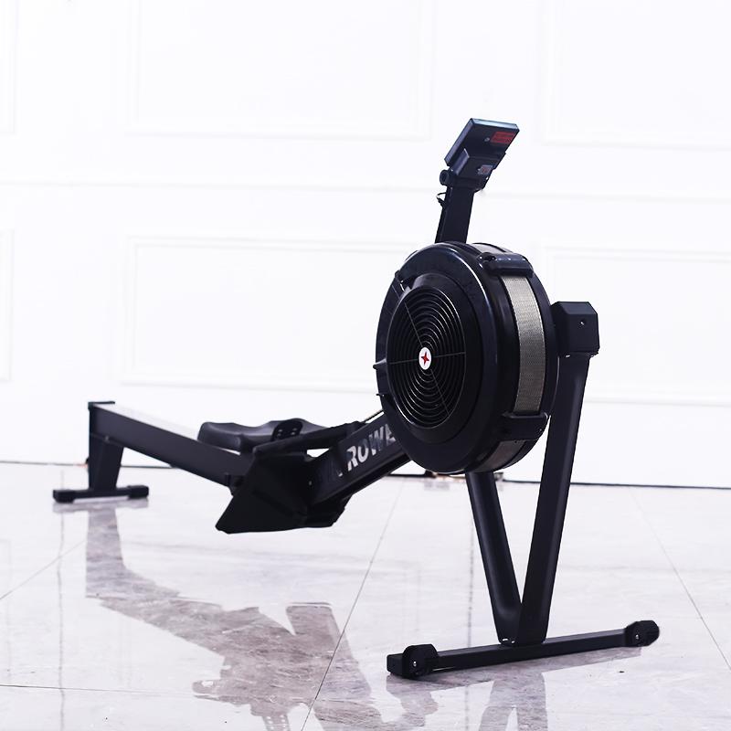 Воздушный гребец машины коммерческих для аэробных тренировок тренажерный зал оборудование гребной тренажер с монитором