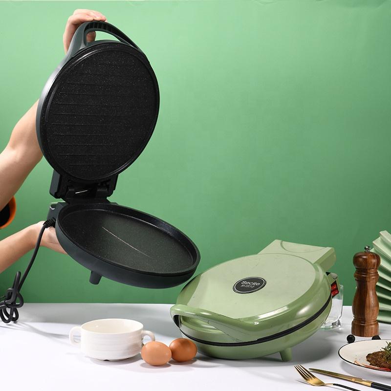 Круглая автоматическая двойная электрическая алюминиевая форма для приготовления пиццы, 30 см, 5 в 1