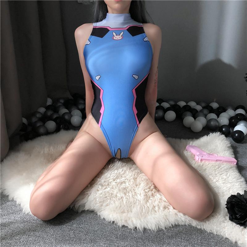 D Va Cosplay Sexy