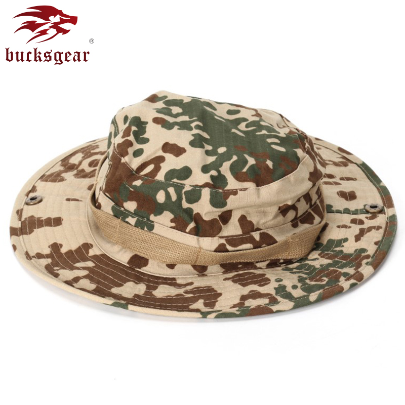 Tactical Bonnie Hat Military Cap Outdoor Battlefield Men Camouflage Sun Camping Classic Jungle Forest Fishing Hiking Outdoor Hat
