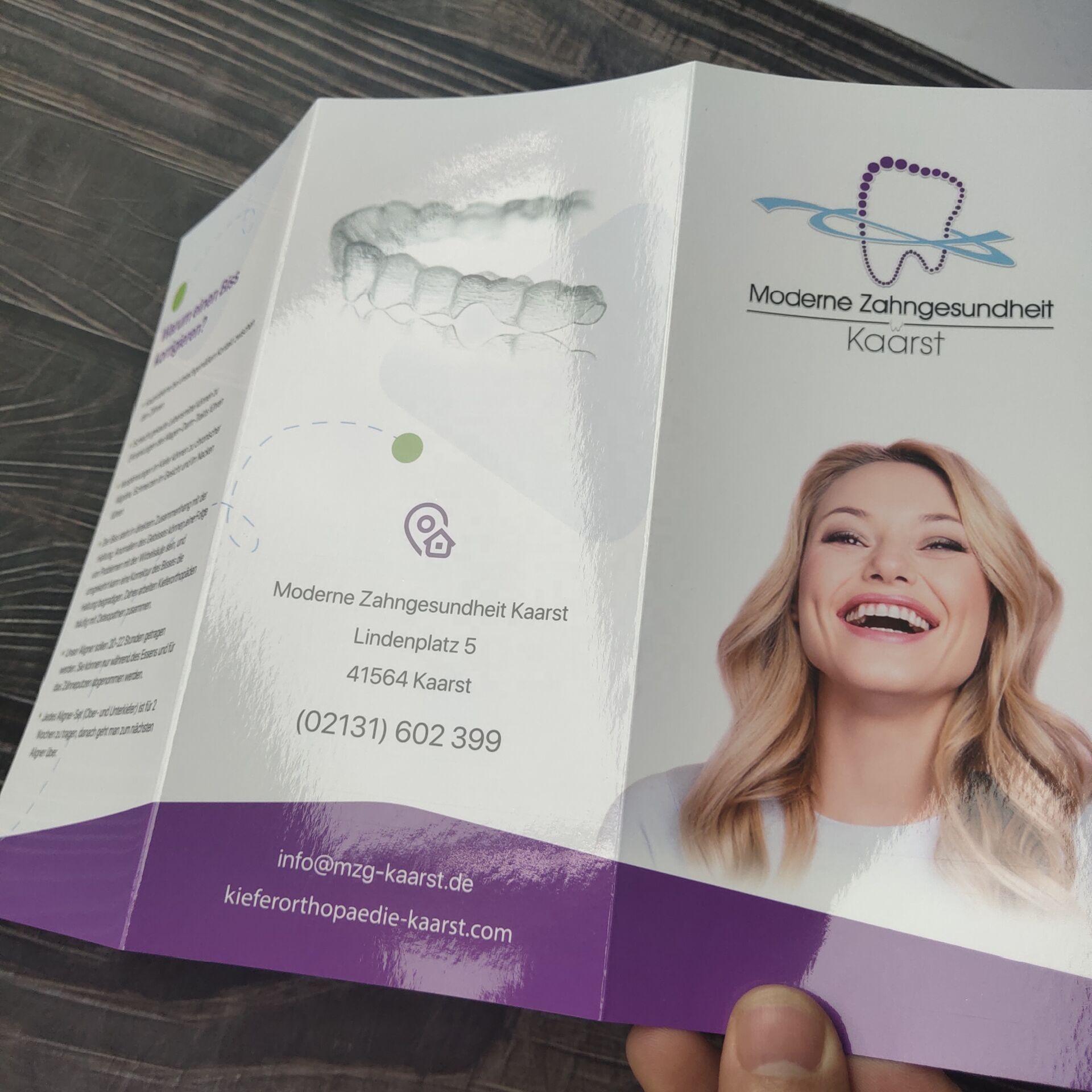 Custom Colorful Brochure/Booklet /Tri-fold flyer /leaflet