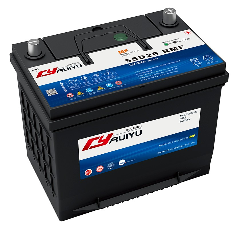 48D26 /N50 12V 50Ah mf batterie auto power battery, View 12V 50Ah