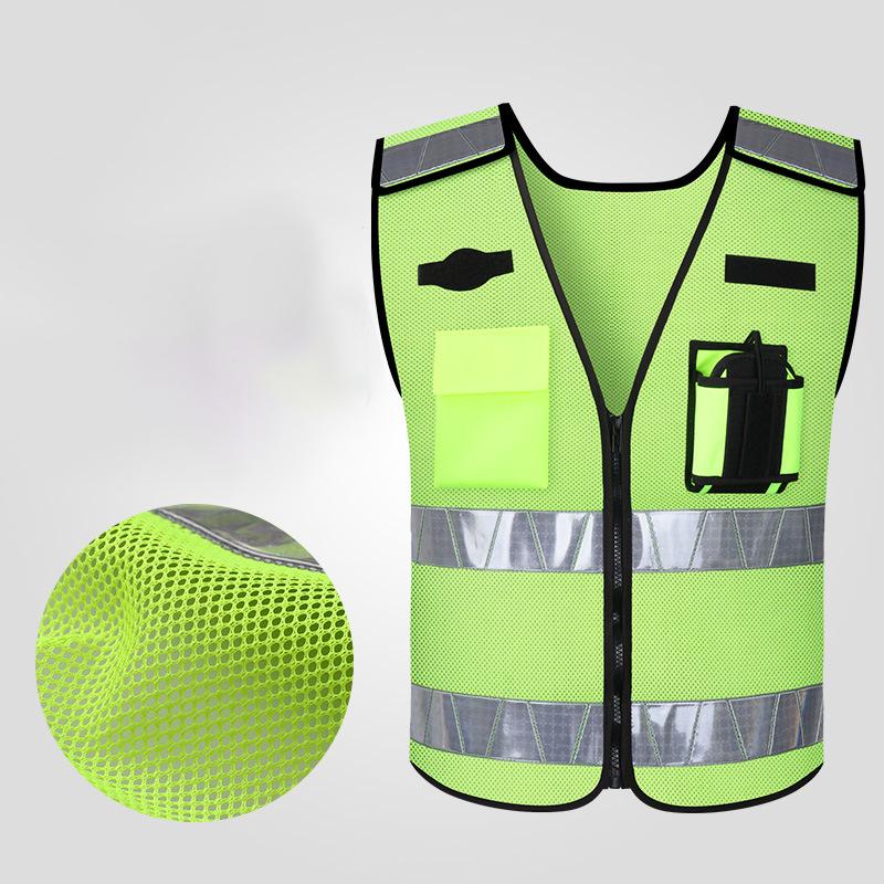 Светоотражающий жилет с флуоресцентным покрытием для езды на мотоцикле по прямой цене от производителя