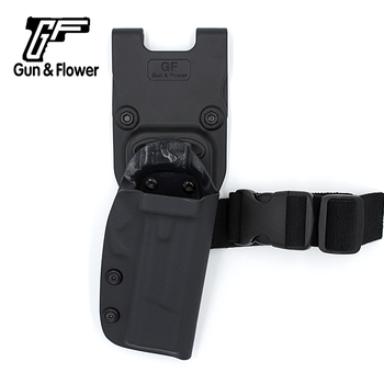 GunFlower Army Tactical Outside OWB Duty Kydex Gun Holster for MPS .45 Glock17/19 Sig P320 PPK
