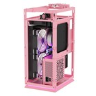 Durable using customized itx matx case gamer computer cases pink color