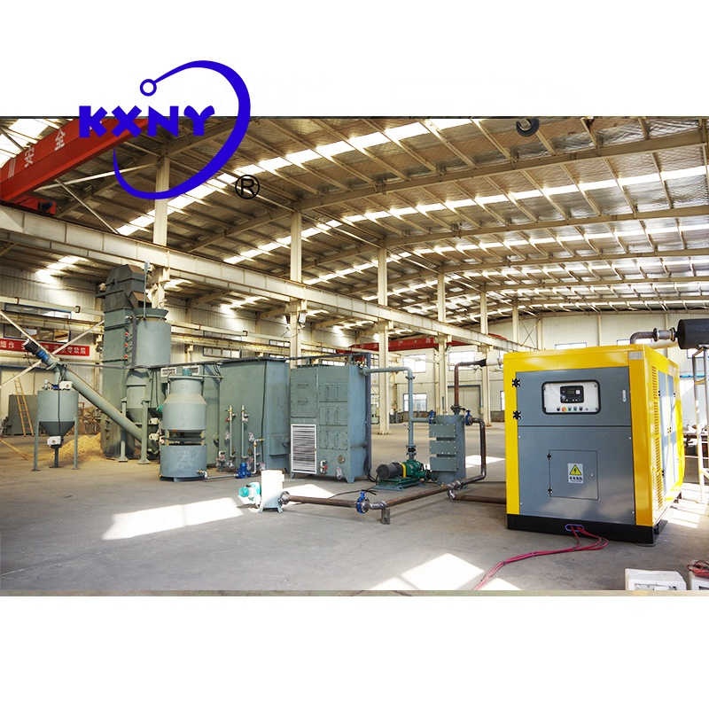 Высокотемпературная малая биомасса, система генерации энергии для семейного использования, стеклянная плавильная печь