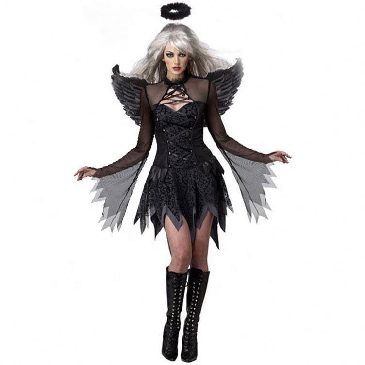 Costume Halloween 3xl.M 3xl Ladies Halloween Sexy Dark Angel Costume Game Uniform Evil Angel Costume Ghost Bride Buy Animal Costumes Animal Costumes Custom Halloween Costumes Product On Alibaba Com