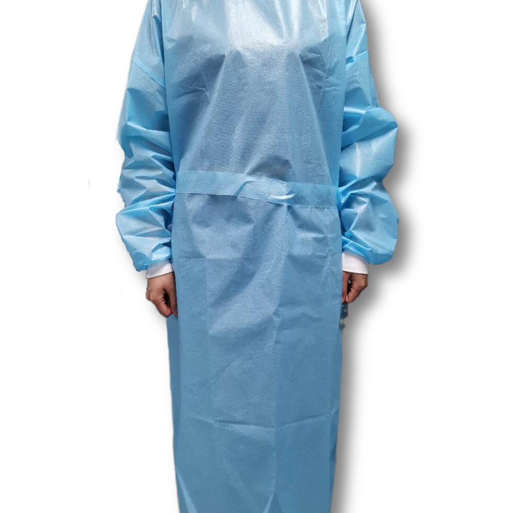 En14126 professional pp tpue isolation gown extra long - KingCare   KingCare.net