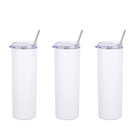 Coffee USA Warehouse Wall Coffee Water Cups Sublimation Stainless Steel 20 Oz Slim Tumblers Double Mug Insulated 20oz Tumbler