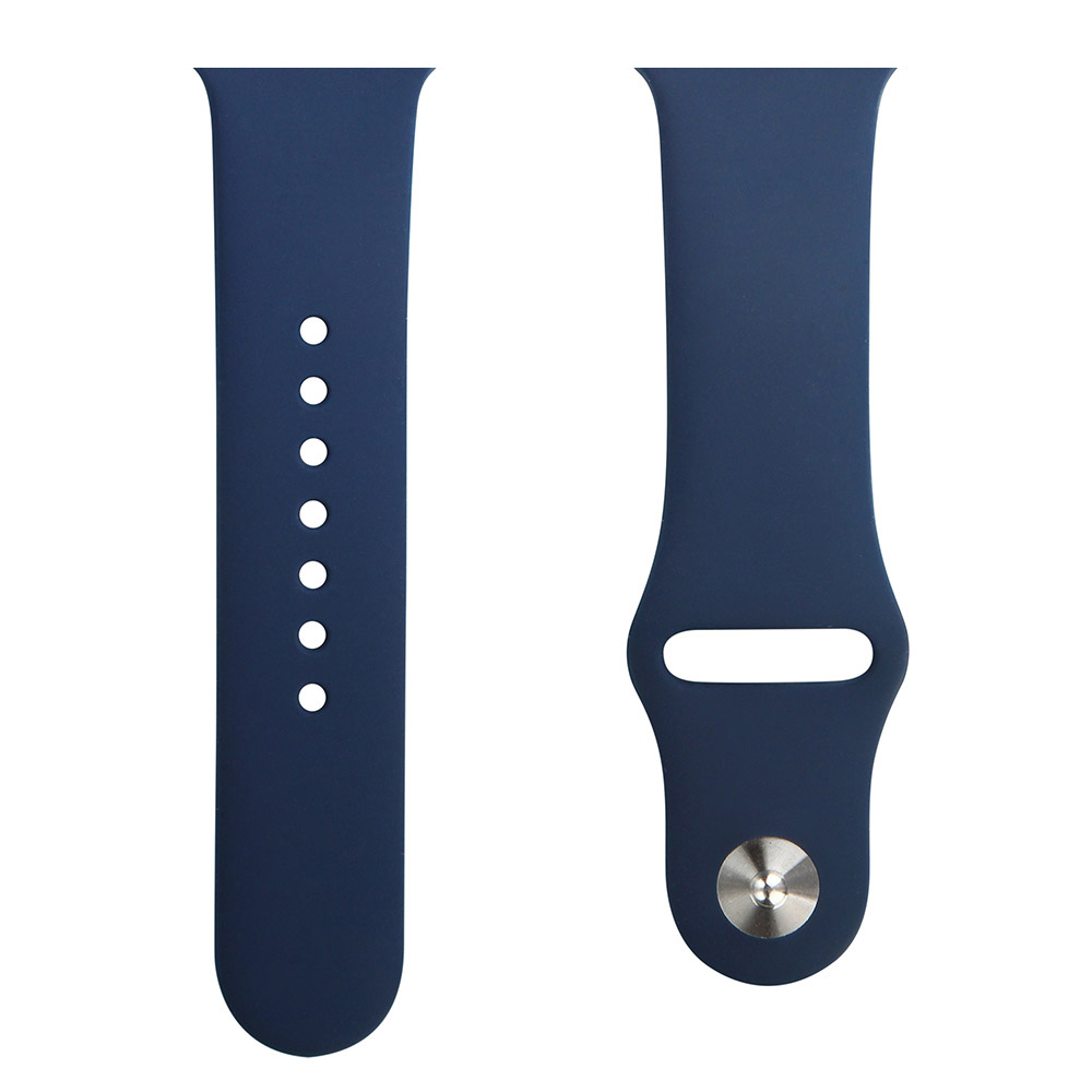 2020 Fashion Hot Sale Silicone Sport Band For Apple Watch Series 3 4 5 6/SE 38mm 40mm 42mm 44mm