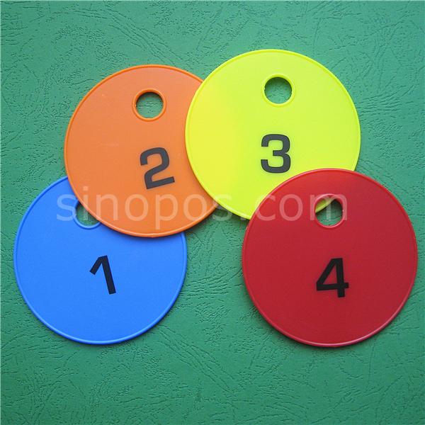 Набор защитных дисков 1-4 с подставкой, для одежды, одежды, магазина, раздевалок