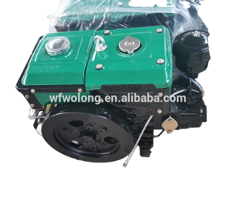 8HP 180,10HP 190,12HP 195,15HP 1100,20HP 1110 diesel engine for walking tractor ,hand start or electric start single cylinder