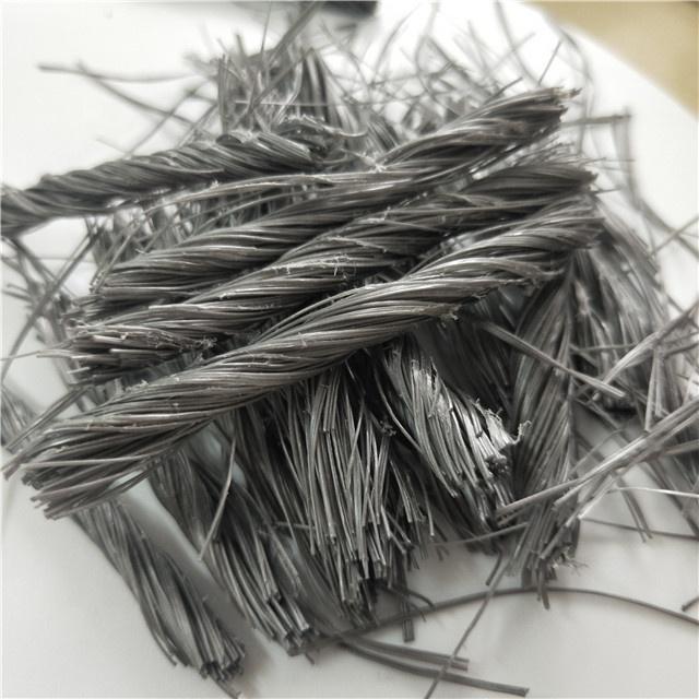 Structural Concrete Fibers Forta Ferro Bundle PP Twist Bundle Fiber