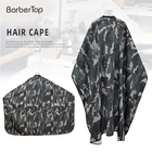 Cape Designer Cape Hair Salon Camouflage Green Color Hair Cutting Cape Polyester Barbershop Hairdressing Gown 140*160cm Cape