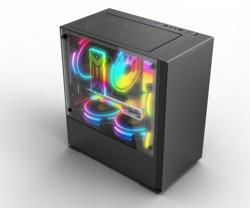 Gaming PC Micro ATX Mid Tower Custom Gabinete CPU Gamer Computer Hardware PC Case