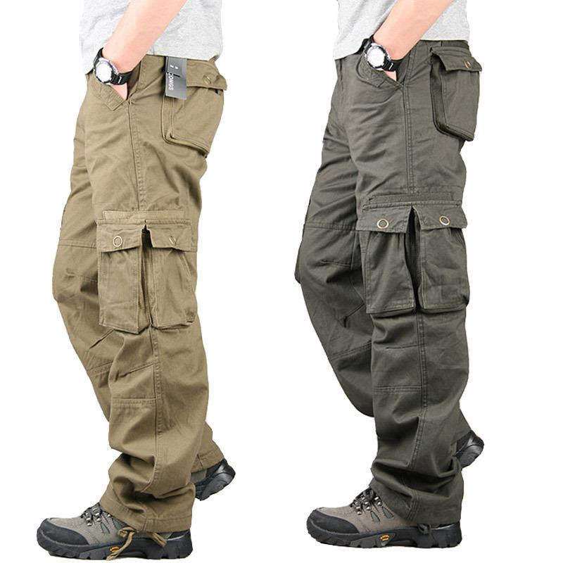 Monos Multibolsillos Para Hombre Pantalones De Combate Militares De Corte Recto Buy Pantalones Cargo Pantalones Militares Cargo Pantalones Rectos Para Hombre Product On Alibaba Com