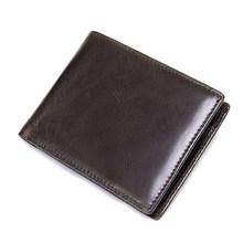 WESTAL мужской кошелек из натуральной кожи, кошелек для мужчин, выгравированный desinger держатель для карт, мужская сумка для денег, короткий коше...(Китай)