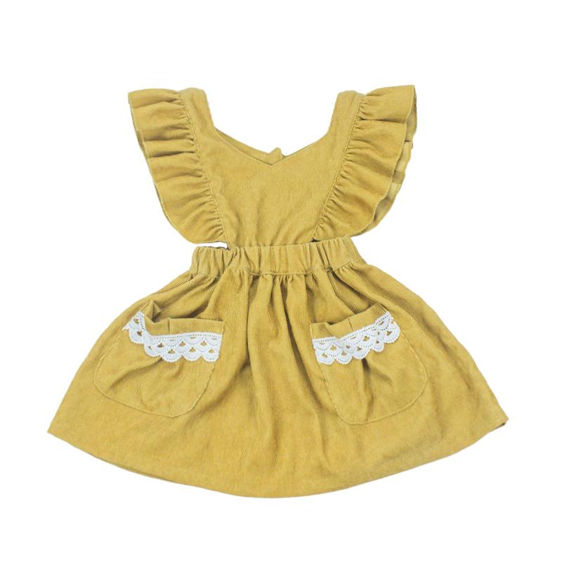 Yellow popmix baby girl dress