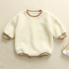 Baby Clothes Manufacture Baby Clothes Long Sleeve Winter Berber Fleece Rompers Boutique Baby Clothes Jumpsuit Soft Newborn Bodysuit