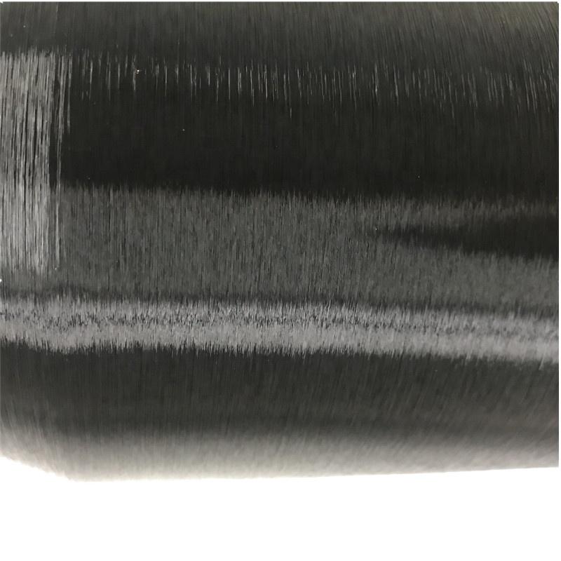 30D/1F Nylon Black  Bright Monofilament mono FDY Yarn for warp knitting weaving knitting