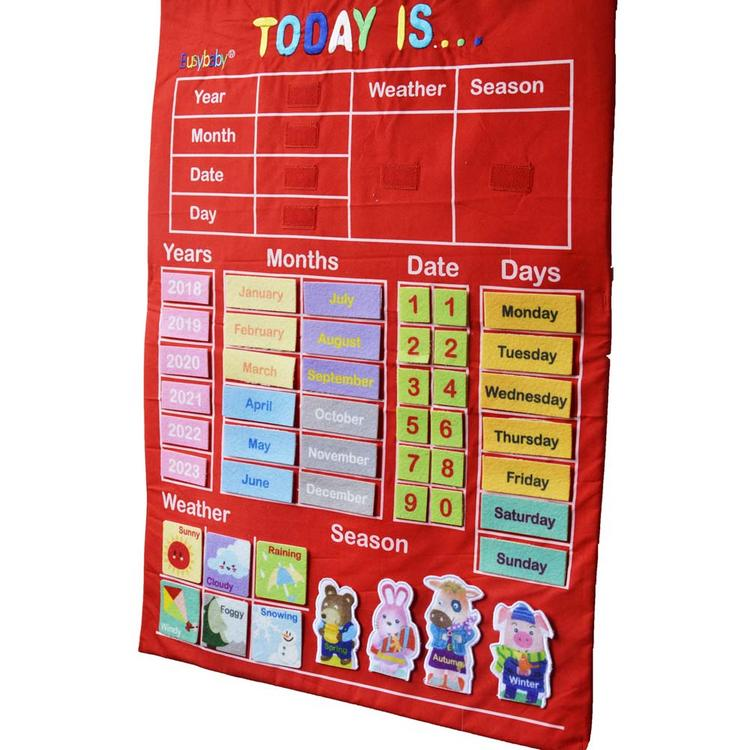 Weather Calendar 2022.Infant Calendar Teaching Aid Educational Toy Cloth Learning English Alphabet Weather Date Season Calendar Teaching Aid Buy Diy Calendar Toys Emotion Change Puzzle Toys Creative Facial Expression Kids Educational Toys For