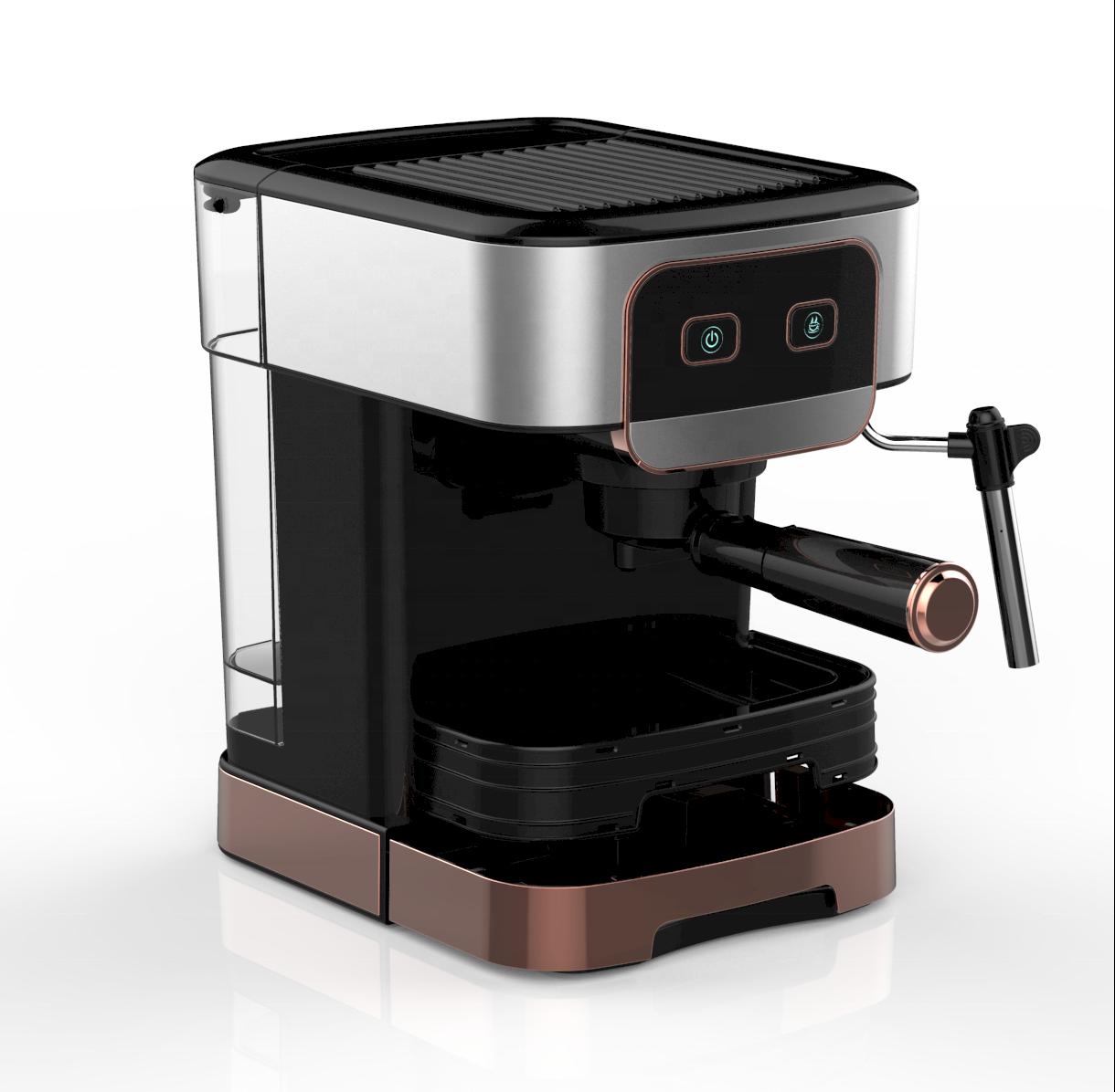 Эспрессо-машина 1200 Вт, 15 бар, итальянская кофемашина для капучино, кофе эспрессо с молоком
