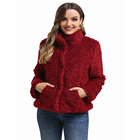 Winter Wholesale Winter Ladies Wool Faux Fur Jacket For Woman Factory Direct Selling Price High Quality