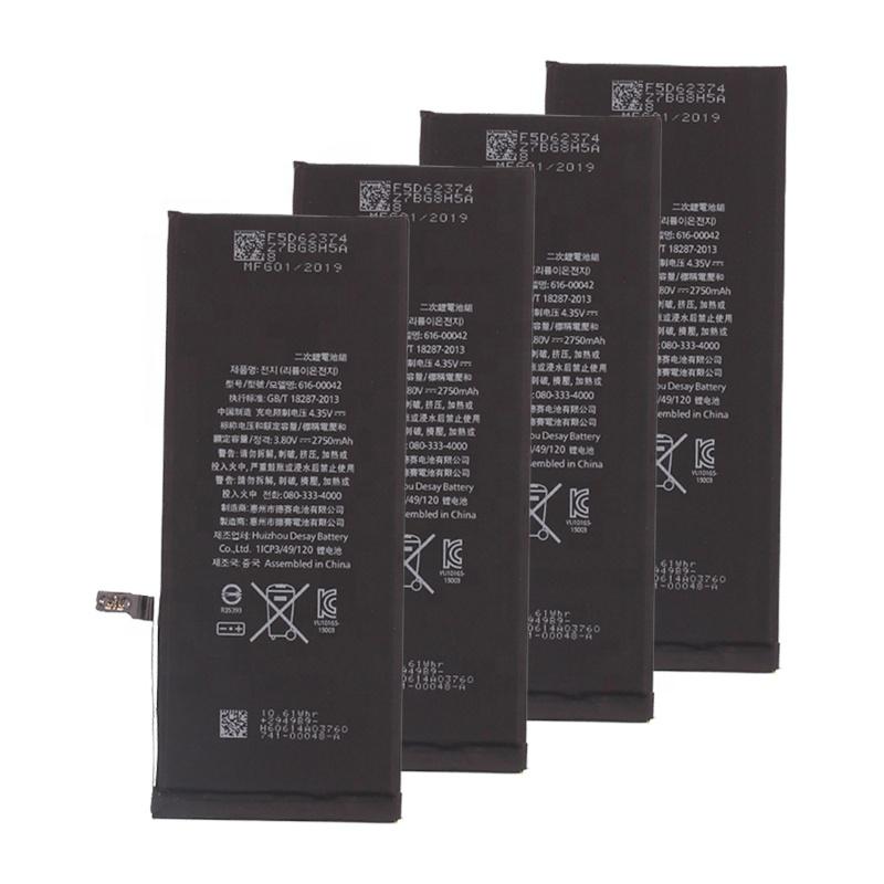 Аккумуляторная батарея 100% для мобильного телефона iphone 5 6 6s 6plus 6splus 7 8 X XR XS Max