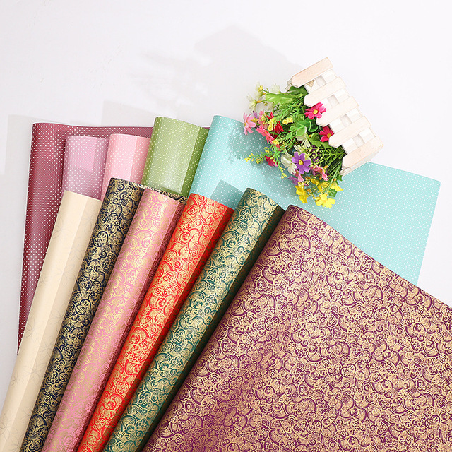 Ready Stocks Handmade Japanese Style Book Paper Color Gift Packaging Wrapping Paper Art Special Paper