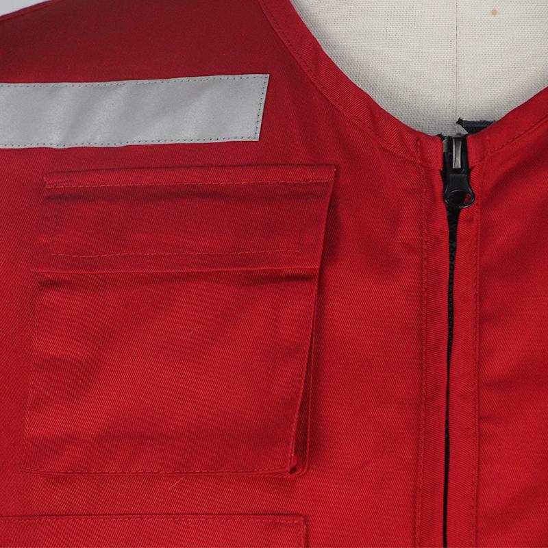 2021 высококачественный модный жилет из ткани Оксфорд 600D с несколькими карманами