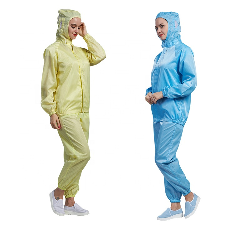 Cleanroom esd antistatic clothing - KingCare | KingCare.net