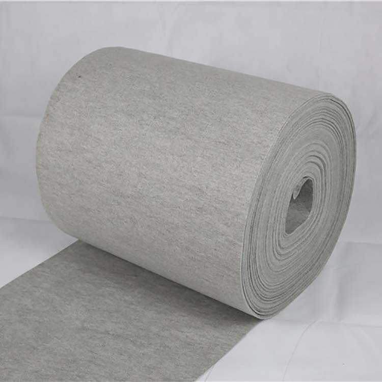 China Hot Sale Needle Punching Polyester Non Woven Felt Needle Filter Carpet Underlay With Competitive Price