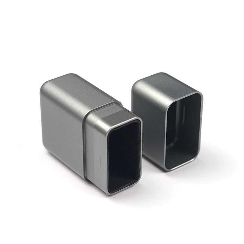Индивидуальная обработка на станке с ЧПУ, алюминиевый защитный корпус для ключей, блок автомобильных ключей