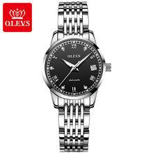 OLEVS женские часы, механические часы, роскошный браслет, наручные часы, элегантные женские автоматические часы, часы Relogio Feminino(Китай)