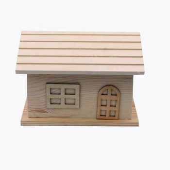 Storage box wooden gift box dollhouse furniture