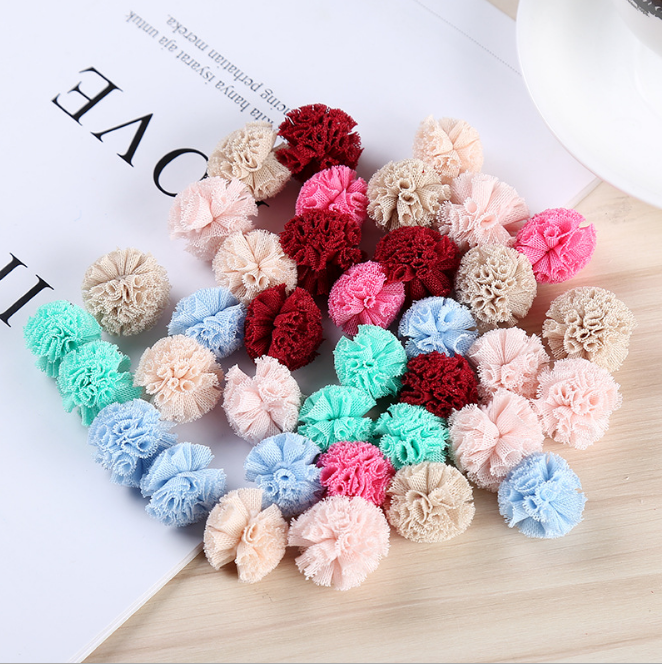 New Polyester Customized Colorful Decorations Craft Fur Pom Pom Balls