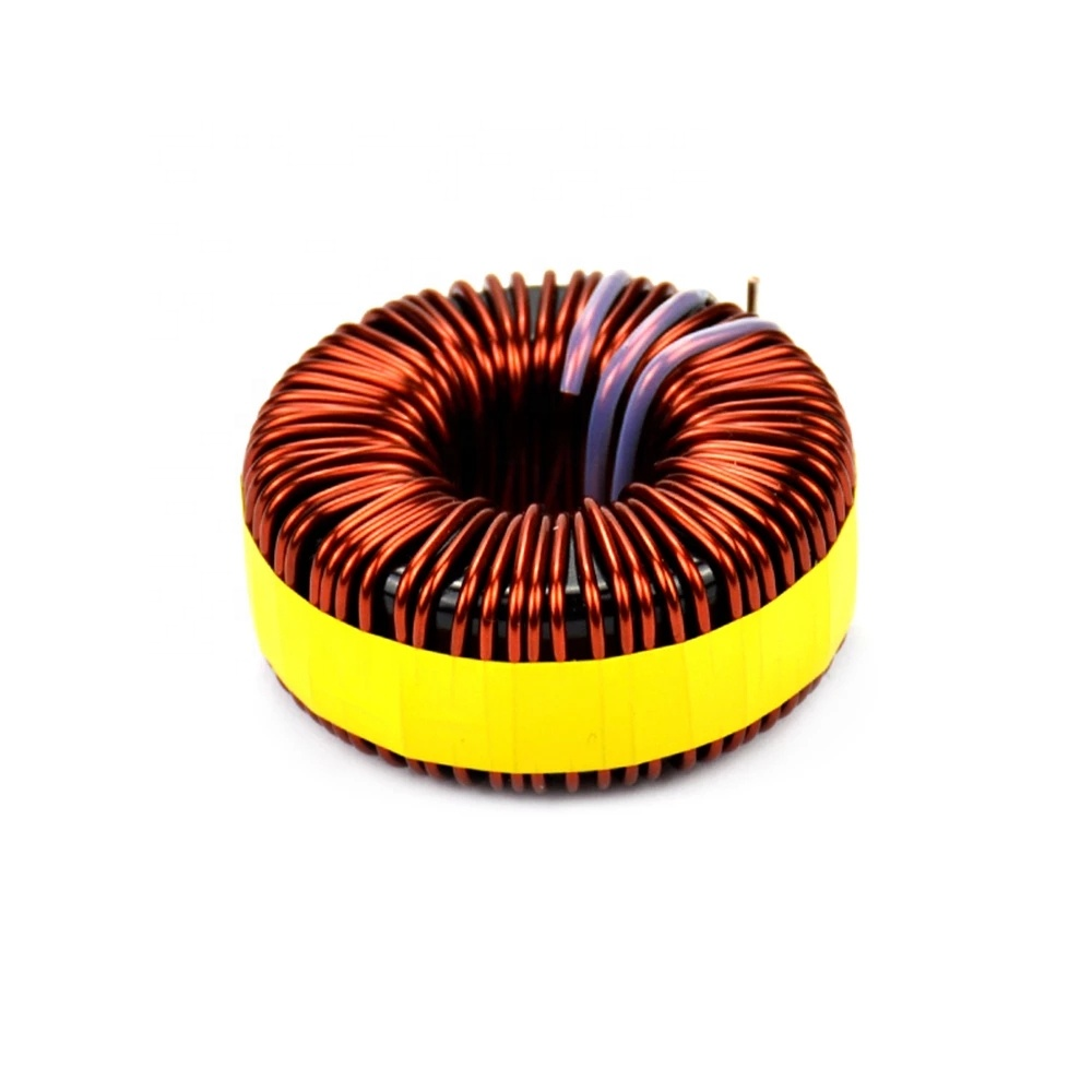 High power toroidal coil wire wound choke inductor automatic 30a current ferrite core inductor