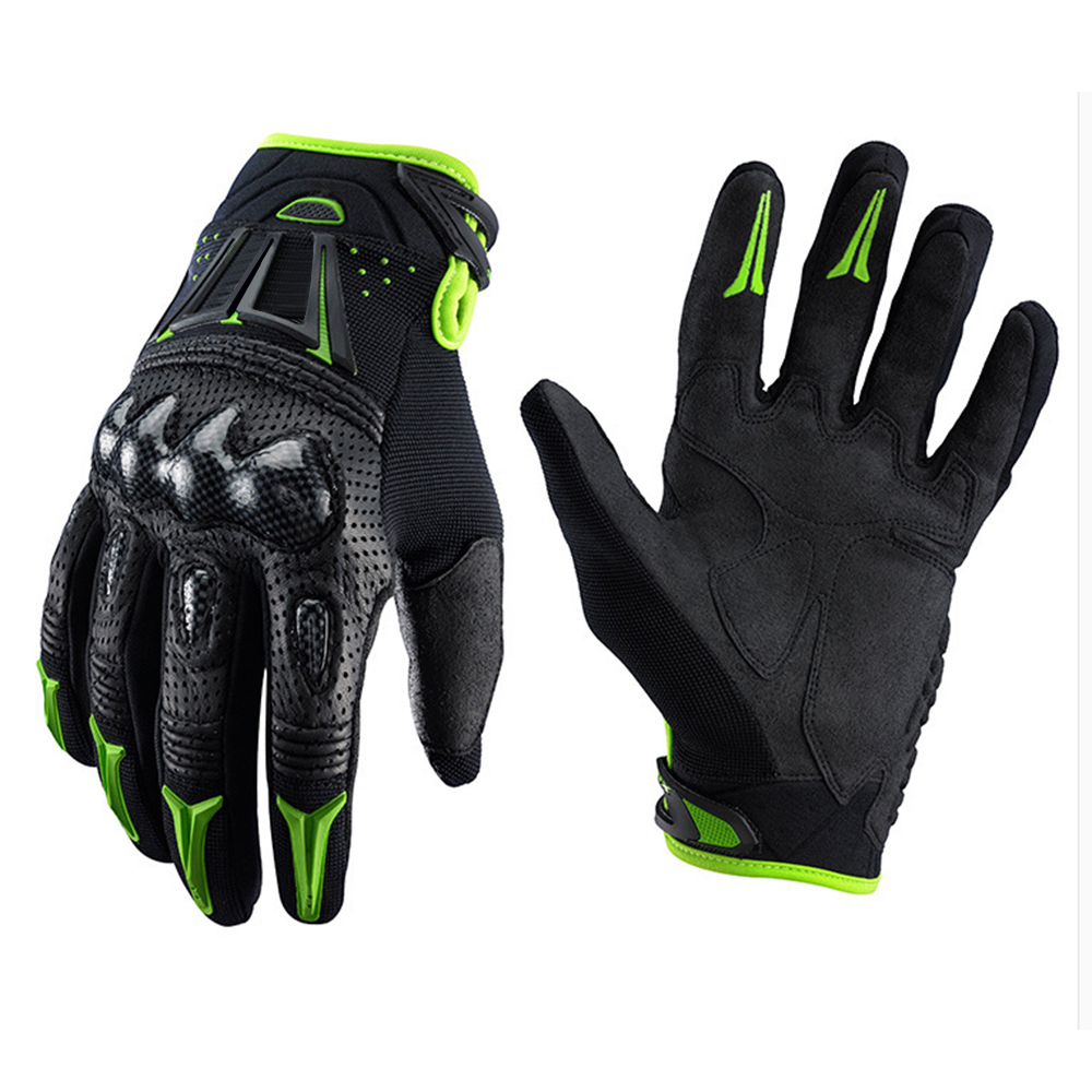 White Leather Glove For Motorcycle Motorcycle Sprint Race Trip Travel Gloves Men Woman Lady Unisex