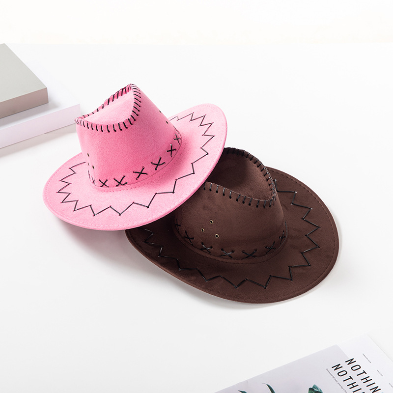Cowgirl Hat Babds Clip Straw Kid Pink Fashion Woman Band Bling, With Concho Tiara Bling