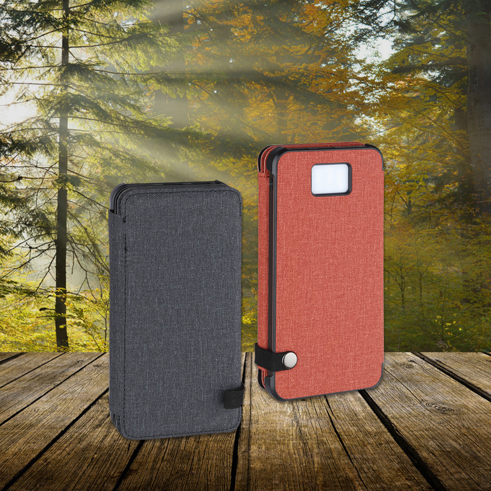 Hot Sale Portable Qi Wireless Solar Charger Power Banks 10000mah 20000mah Power Bank Solar Charger with Led Light