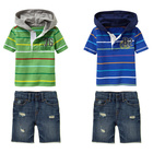 Boy's Hoodied Boys Boy's Casual Hoodied Shirt Jeants Of Clothes Sets.boutique Childrens Clothing Boys Clothing Sets 100% Cotton Clothes Set