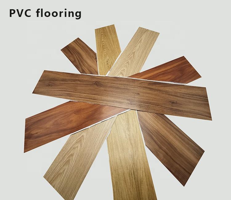 Прочный 2020 Горячая Распродажа Новый материал ламинированный деревянный ПВХ настил виниловый пол