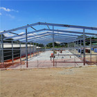 Construction Prefabricated Construction Metal Building Steel Structure Construction Warehouse Prefabric