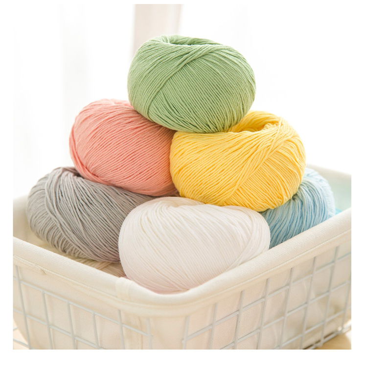 Yarncrafts Multi color wool soft chunky blended hand knitting yarn for shawl and scarf