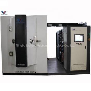 China factory pvd plasma film magnetron sputtering coating system/car parts vacuum coating machine