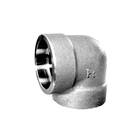 1/4 2 10mm 12 ss 90deg thread socket weld flange elbow pipe tube and fitting in stainless steel