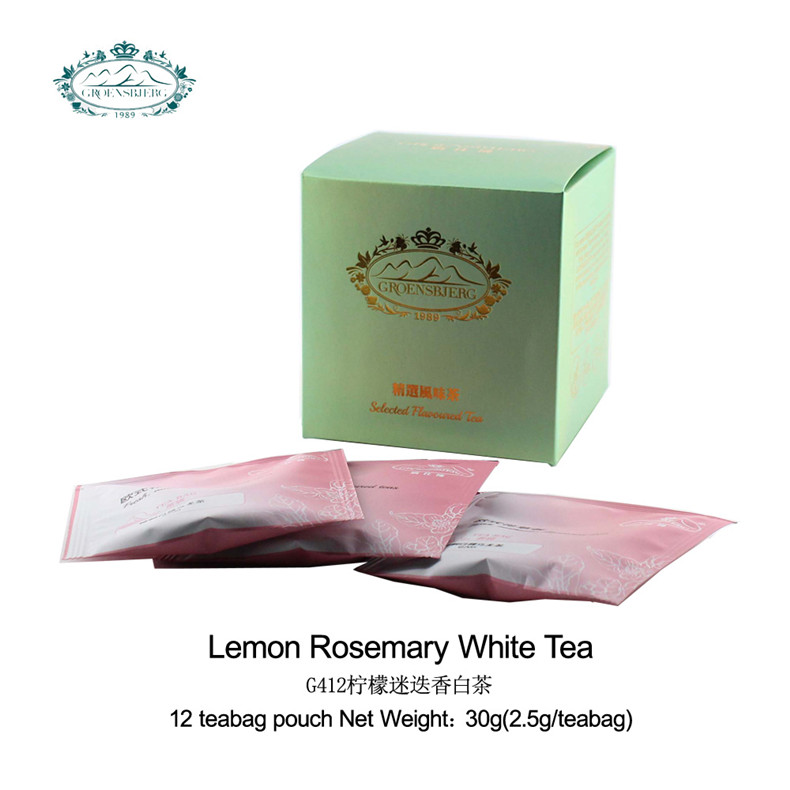 new product ideas White tea lemongrass rosemary leaves applemint lemon peel tea private label fresh authentic flavour - 4uTea | 4uTea.com